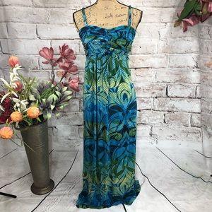 Soma Intimates Long Maxi Floral Print Dress